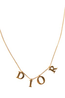Christian DiorLetter Charm Necklace - irvrsbl