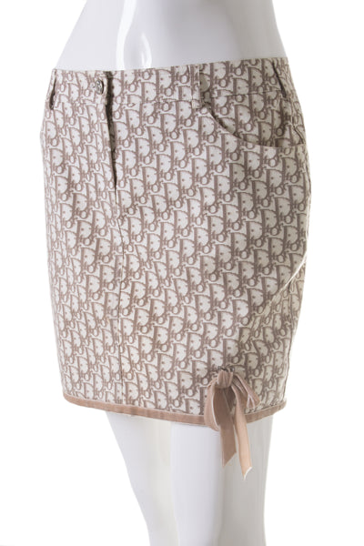 Christian DiorMonogram Skirt- irvrsbl