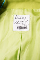 Moschino Cheap and Chic Shoelace Suit - irvrsbl