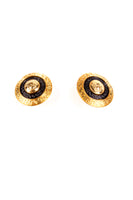 VersaceMedusa Head Clip On Earrings- irvrsbl