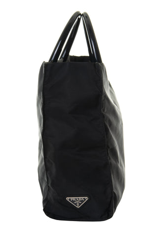Tessuto Bag with Acrylic Handle