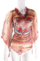 Sheer Tribal Top