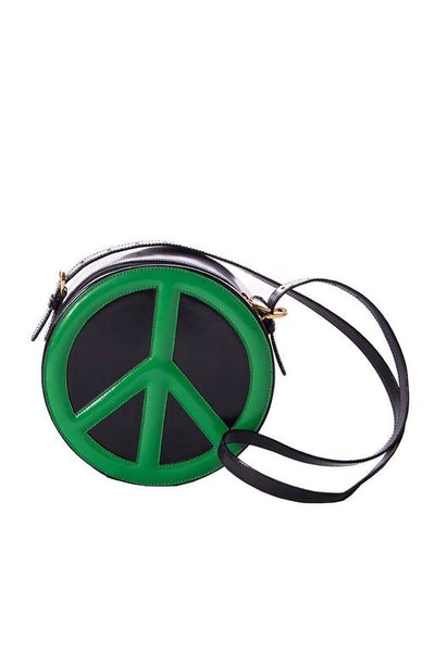 MoschinoRedwall Peace Sign Bag- irvrsbl