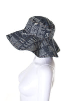 John Galliano Gazette Print Hat - irvrsbl