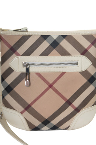 Nova Check Messenger Bag