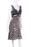 Roberto CavalliZebra Printed Dress- irvrsbl