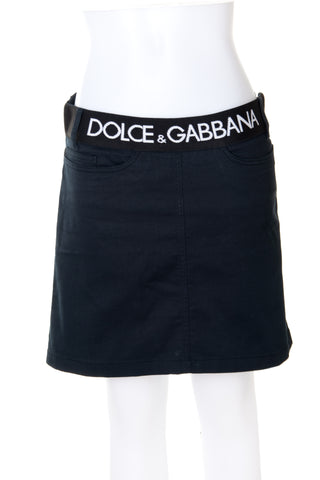 Dolce and GabbanaLogo Skirt- irvrsbl