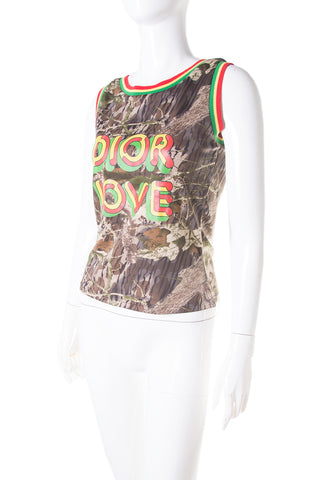 "Rasta ""Dior Love"" Tank Top"