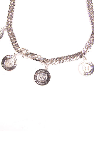 MoschinoButton Charm Necklace- irvrsbl