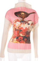 Pleats Please Fruit Print Top