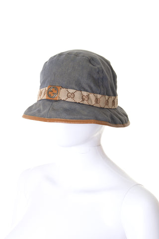 GucciDenim Bucket Hat- irvrsbl