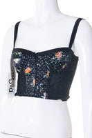 Dolce and Gabbana Floral Corset Top - irvrsbl