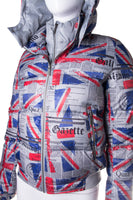 Gazette Print Puffer Jacket