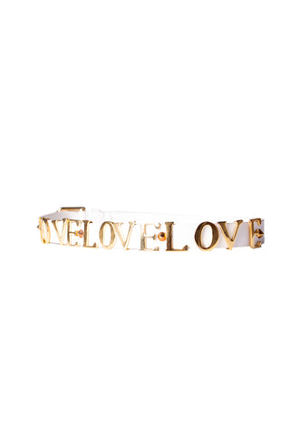 Dolce and Gabbana'Love' Belt- irvrsbl