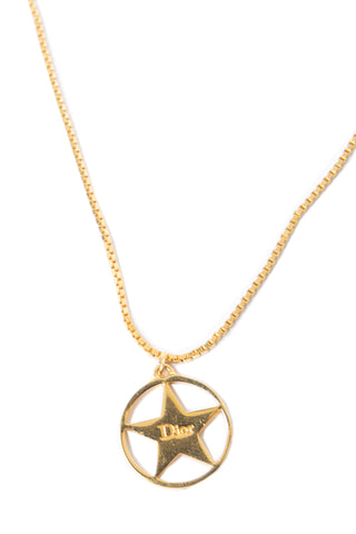 Christian DiorStar Necklace- irvrsbl