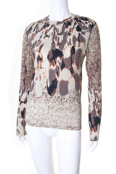 Unisex Long Sleeve Printed Top