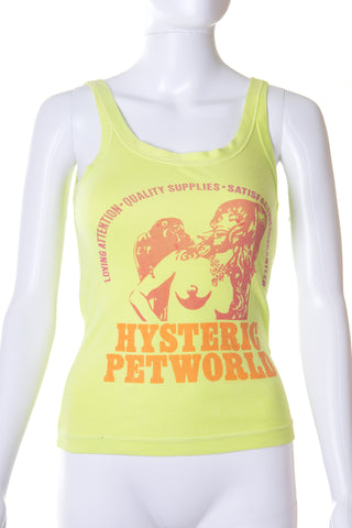 Hysteric GlamourNeon Tank Top- irvrsbl