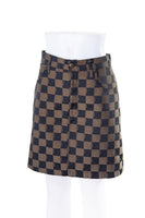 Fendi Checkerboard Skirt - irvrsbl
