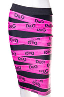 Dolce and GabbanaTape Printed Skirt- irvrsbl