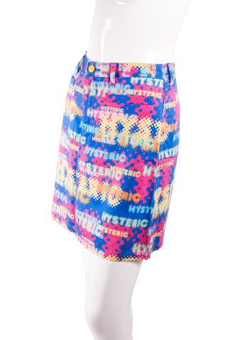 "Hysteric Glamour ""Hysteric"" Printed Skirt - irvrsbl"