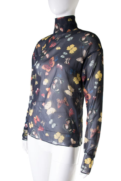 Dolce and GabbanaSheer Butterfly Top- irvrsbl