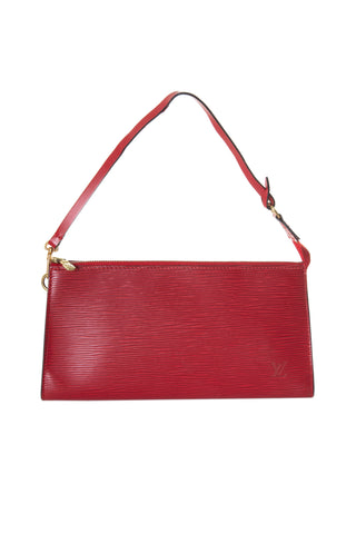 Epi Pochette in Red
