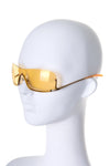 Gold Iridescent Sunglasses