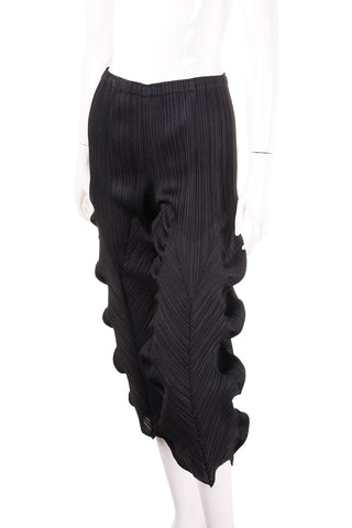 Sculptural Pleated Pants