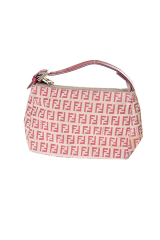 FendiMini Zucca Bag in Red- irvrsbl