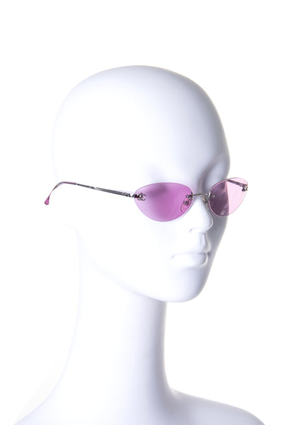 4003 c. 124/76 Rimless Sunglasses
