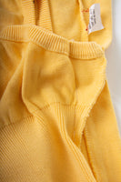 Yellow Knit Orb Dress