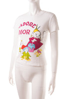 Christian DiorJ'adore Dior Cartoon Tshirt- irvrsbl