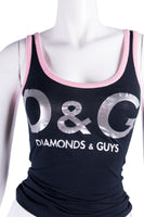 Dolce and Gabbana'Diamonds & Guys' Top- irvrsbl