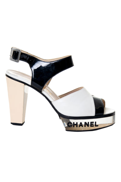 ChanelClear Bottom Heels - irvrsbl