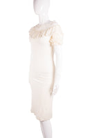 Roberto Cavalli Lace Shoulder Dress - irvrsbl