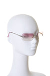 Ombre Sunglasses with Crystal CC Charms