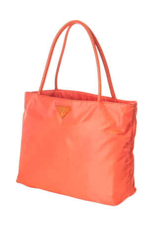 Tessuto City Bag in Coral