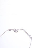 Christian Dior Crystal Dog Tag Necklace - irvrsbl