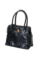 Vivienne Westwood Leather Mini Orb Bag - irvrsbl