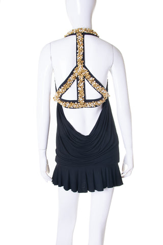 MoschinoPeace Sign Dress- irvrsbl