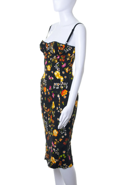Dolce and Gabbana Floral Corset Dress - irvrsbl