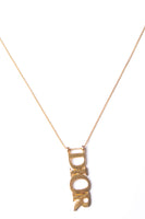 Christian DiorLogo Chain Necklace- irvrsbl