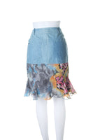 John Galliano Graffiti Print Skirt