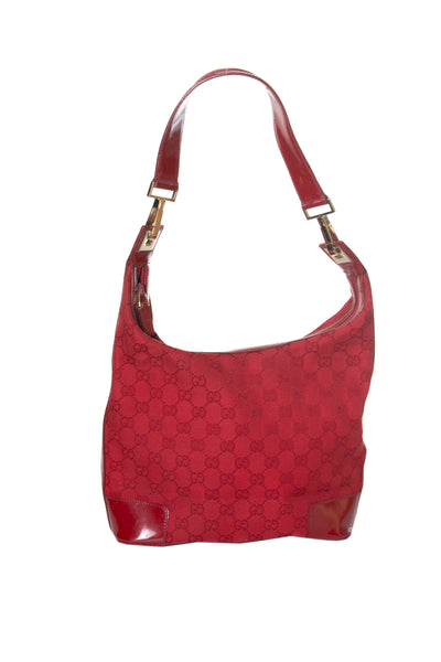 Red Monogram Handbag
