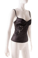 Dolce and GabbanaSatin Bustier Top- irvrsbl