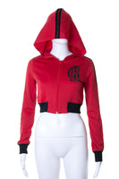 Jean Paul GaultierLogo Hooded Jacket- irvrsbl