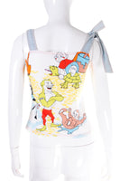 Cartoon Printed Top