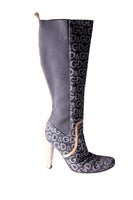 Dolce and Gabbana Monogram Boots - irvrsbl