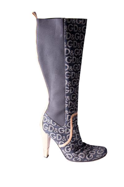 Dolce and GabbanaMonogram Boots- irvrsbl