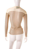 Jean Paul GaultierSheer Striped Top- irvrsbl